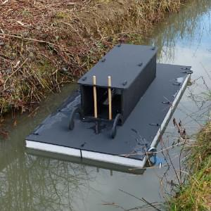 Mink rafts and traps